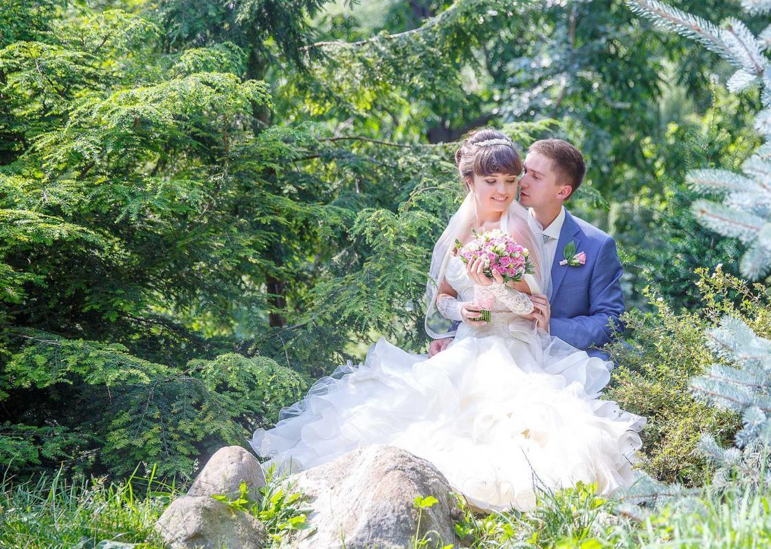 Свадебная фотосессия в Малом ботаническом саду ( Аптекарский огород)
